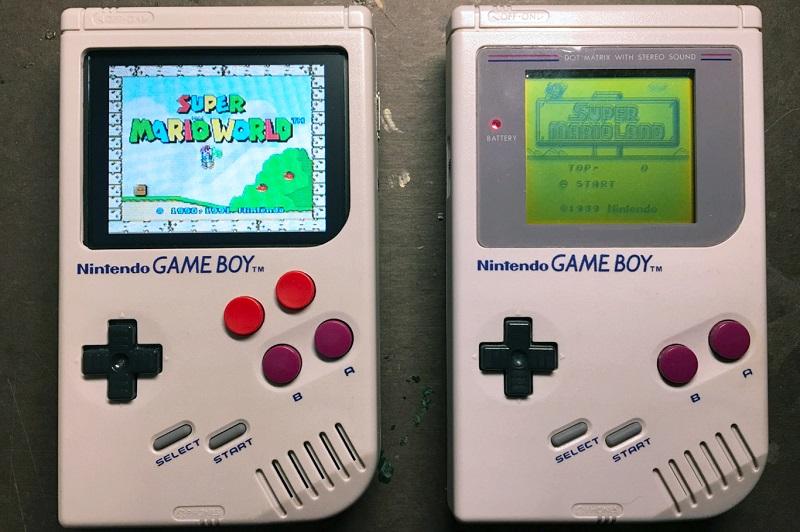 Game Boy a Zero Raspberry Pi