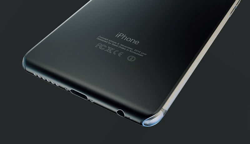 Glass metarial on high end smartphone