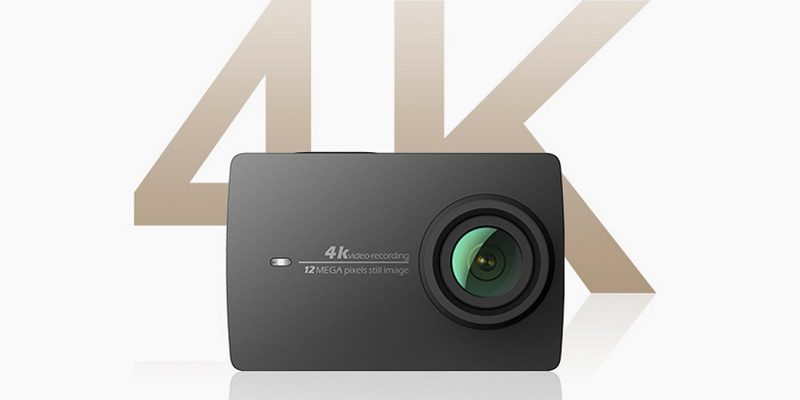 Waiting for an action camera to record 4K and have screen? Check out the new Xiaomi