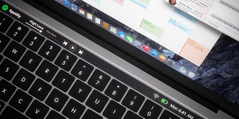 Apart from the touch panel OLED, the next MacBook Pro will surely come with a button Touch ID