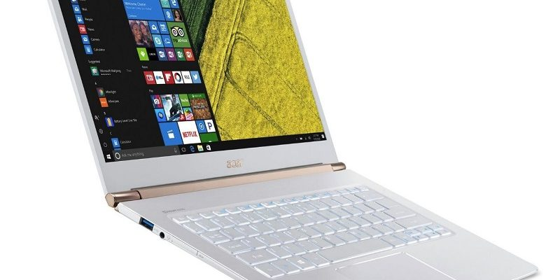 The range of notebooks Acer Swift wants seduce us with their thinness and micros 7th generation Intel Core