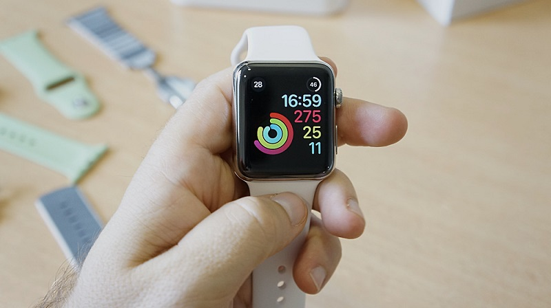 Sales of smartwatches