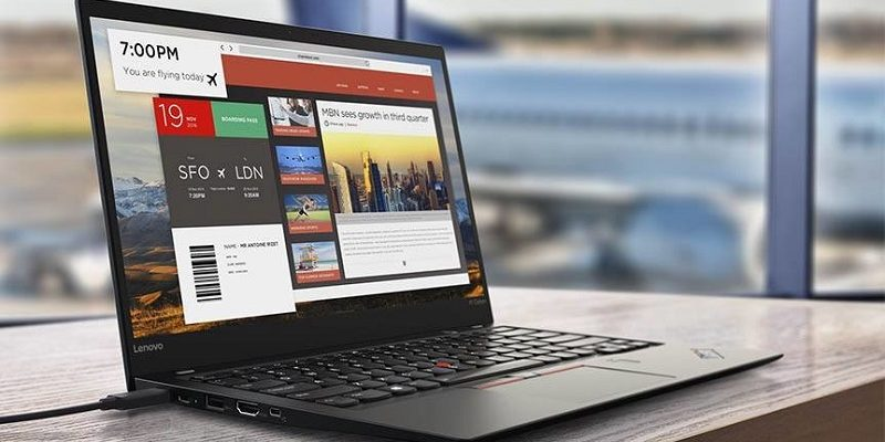 Lenovo ThinkPad X1 Carbon silver, with Thunderbolt 3 and better autonomy