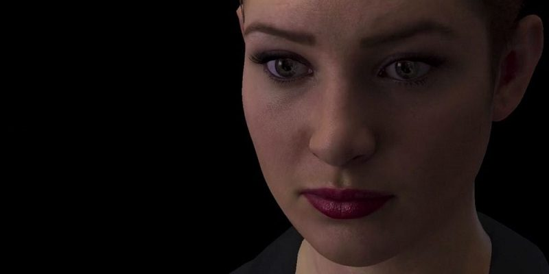 Nadia is a chatbot, programmed with human emotional intelligence to understand words and facial gestures