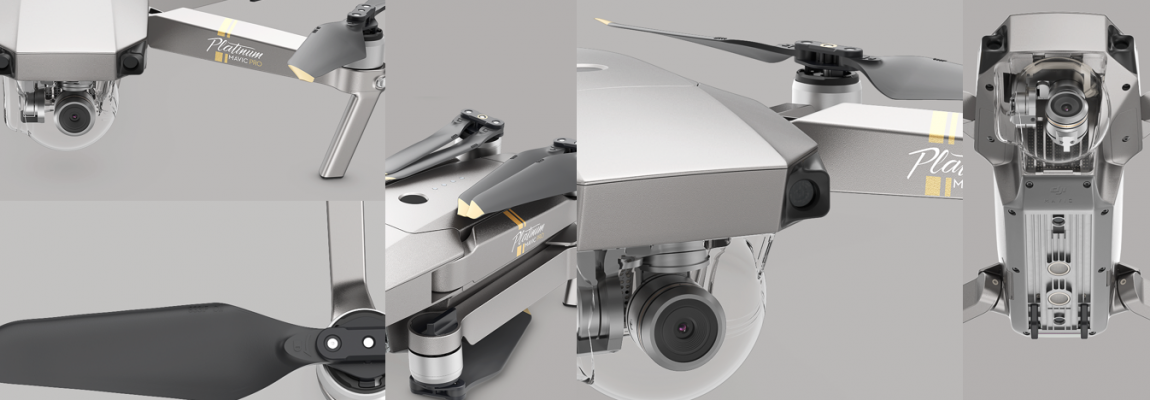 DJI Mavic Pro Platinum and DJI Phantom 4 Pro Obsidian: DJI's most popular drones are renewed