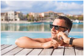 Need a holiday but just too busy? VOIP is the answer.