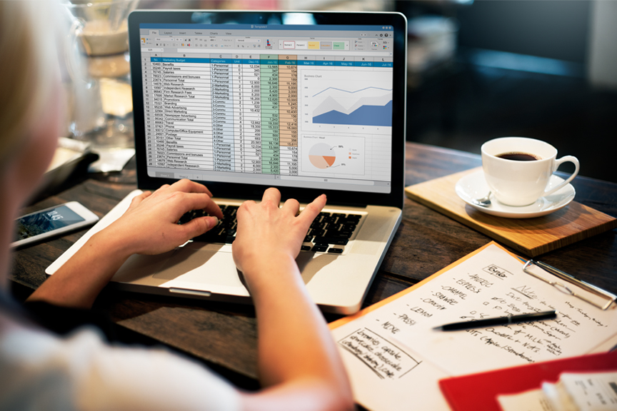 Microsoft's spreadsheet